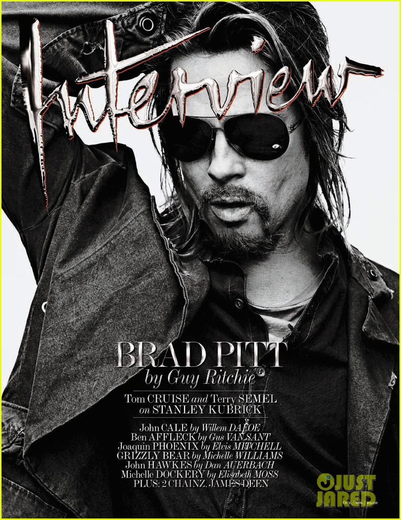 brad pitt covers interview magazine november 2012 02