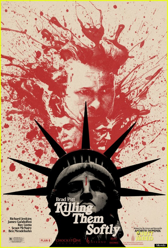 brad pitt new killing them softly posters 02