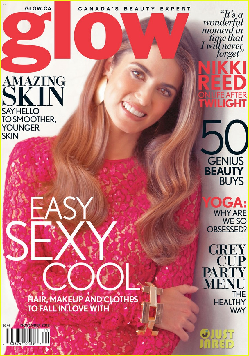 nikki reed glow magazine cover girl 032745085