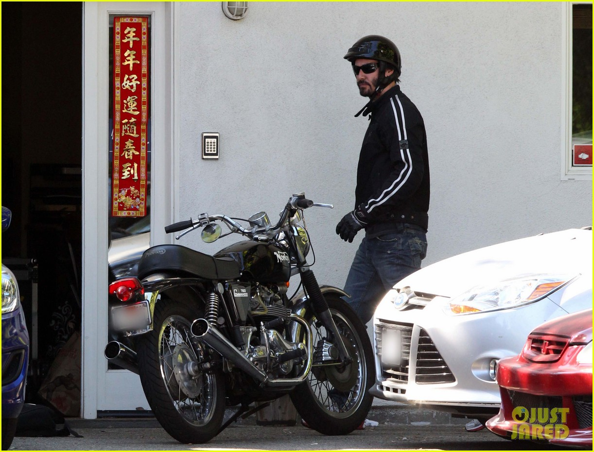 keanu reeves biker dude 06