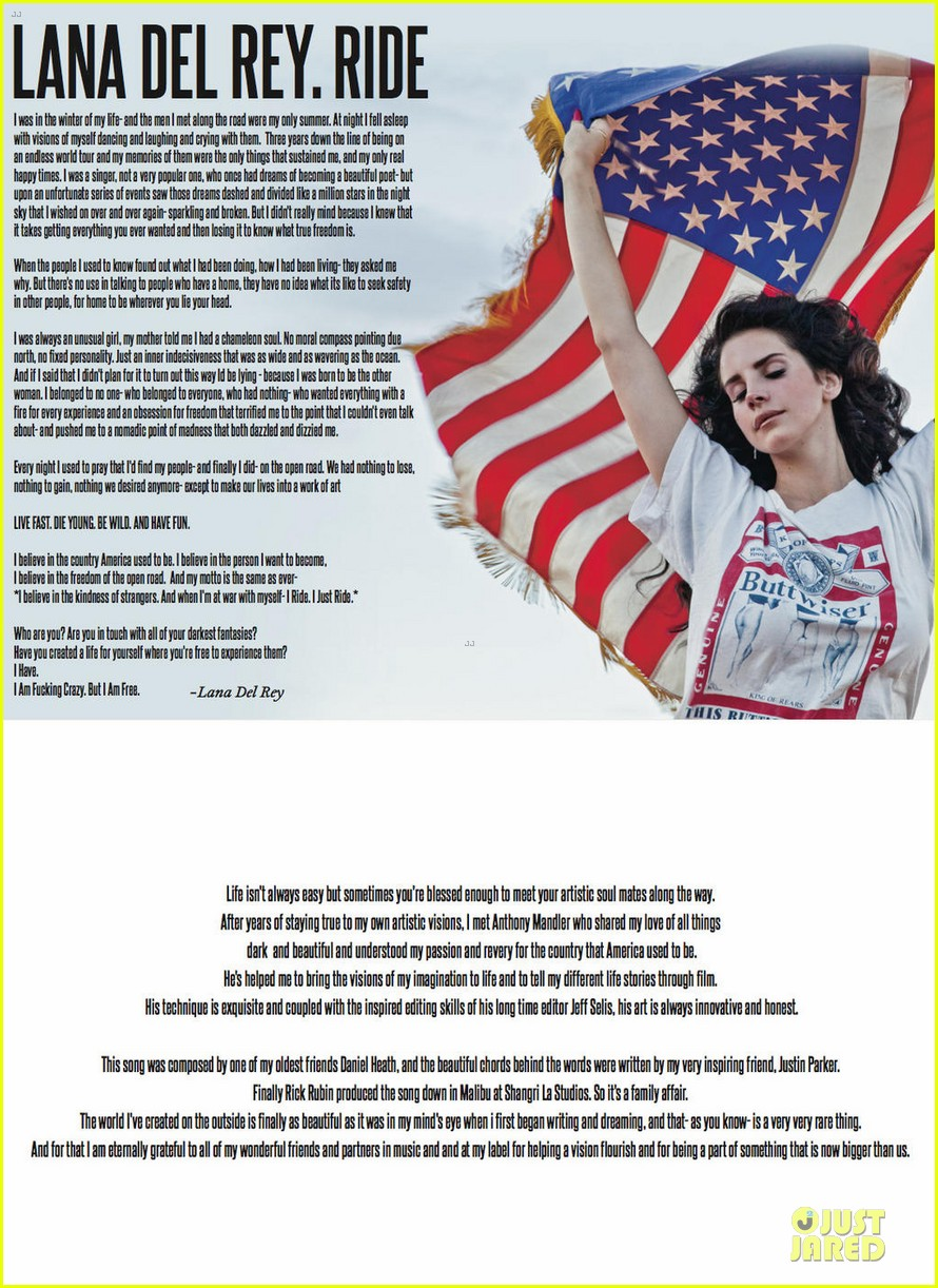 lana del rey h&m holiday campaign 052739430