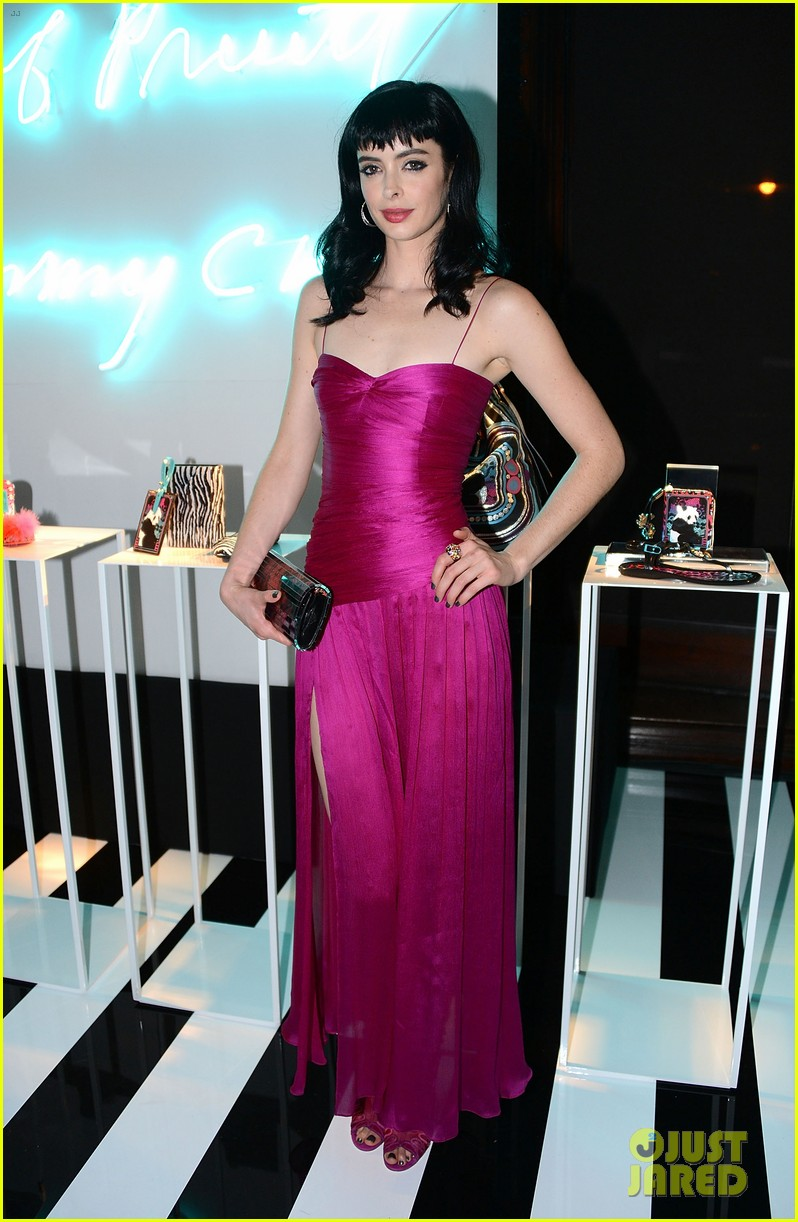 krysten ritter jimmy choo collection launch 03