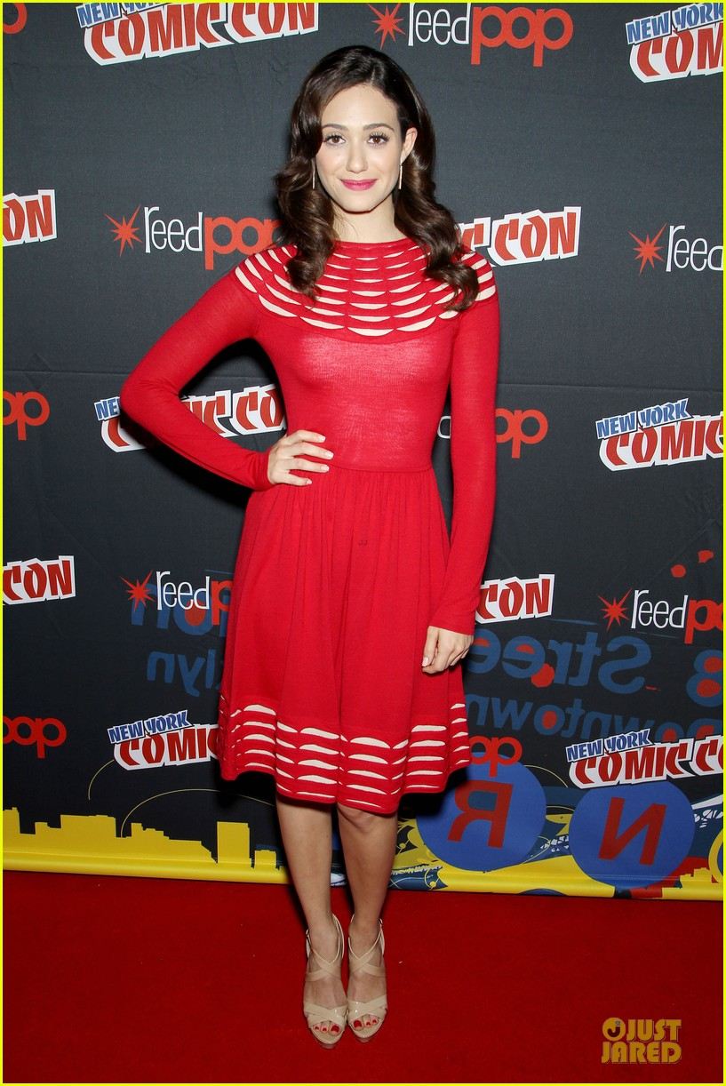 emmy rossum beautiful creatures comic con panel 01