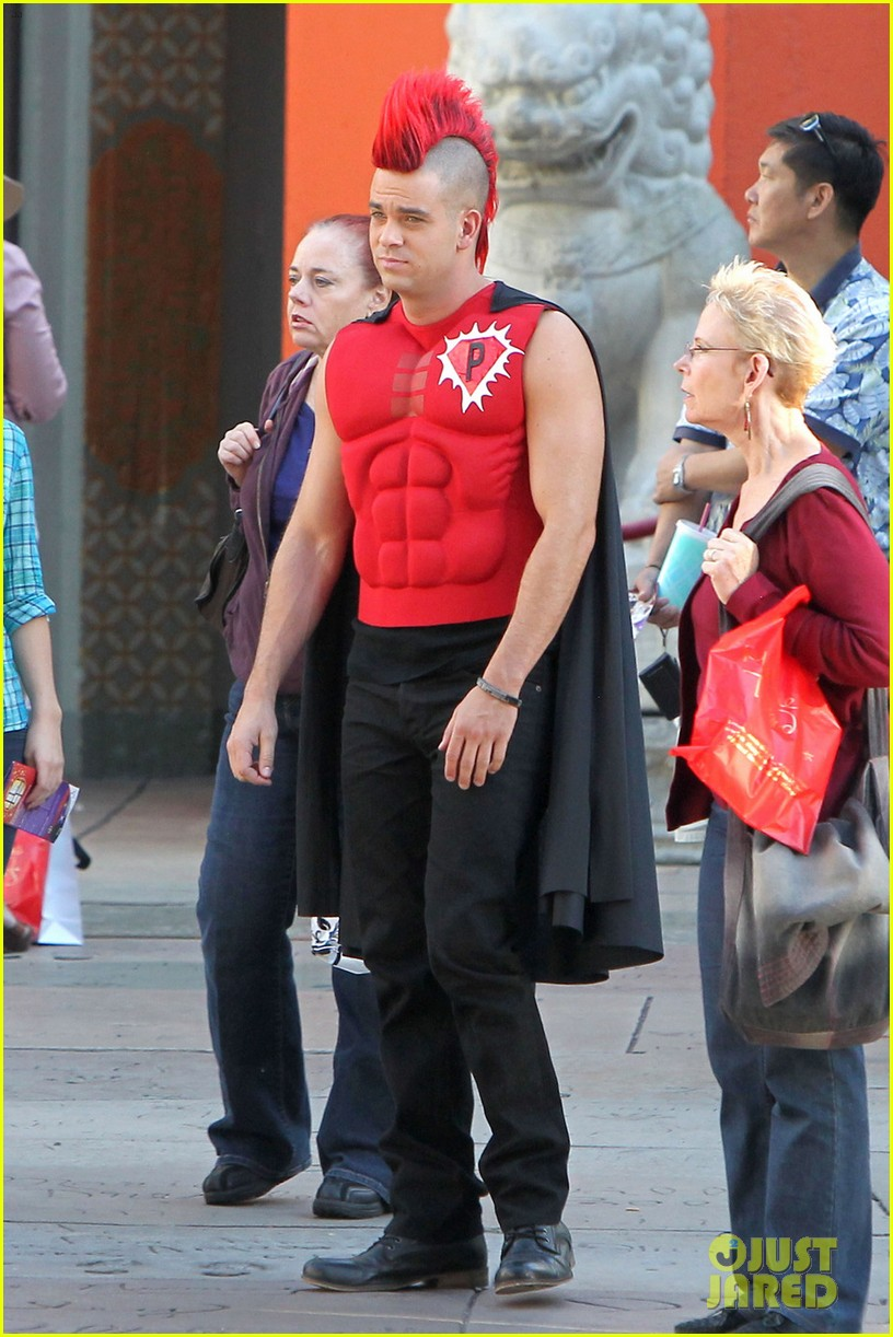 mark salling glee superhero 01