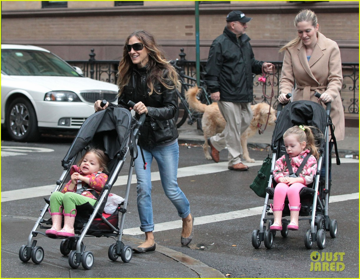 sarah jessica parker big apple morning with kids 12