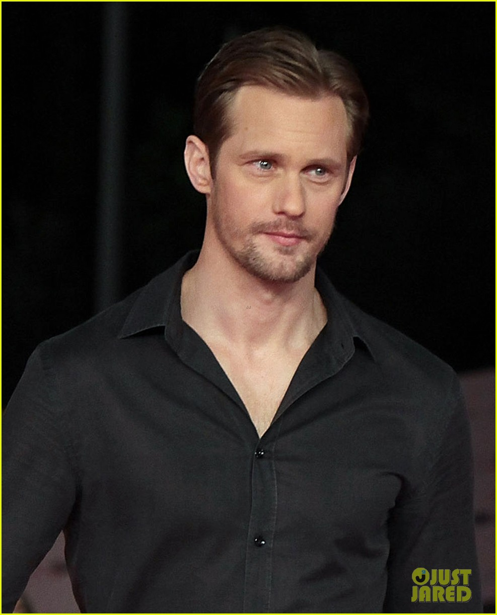 alexander skarsgard kristin bauer true blood at romafictionfest 02