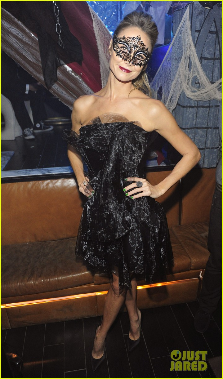 stacy keibler halloween masquerade host 012746772