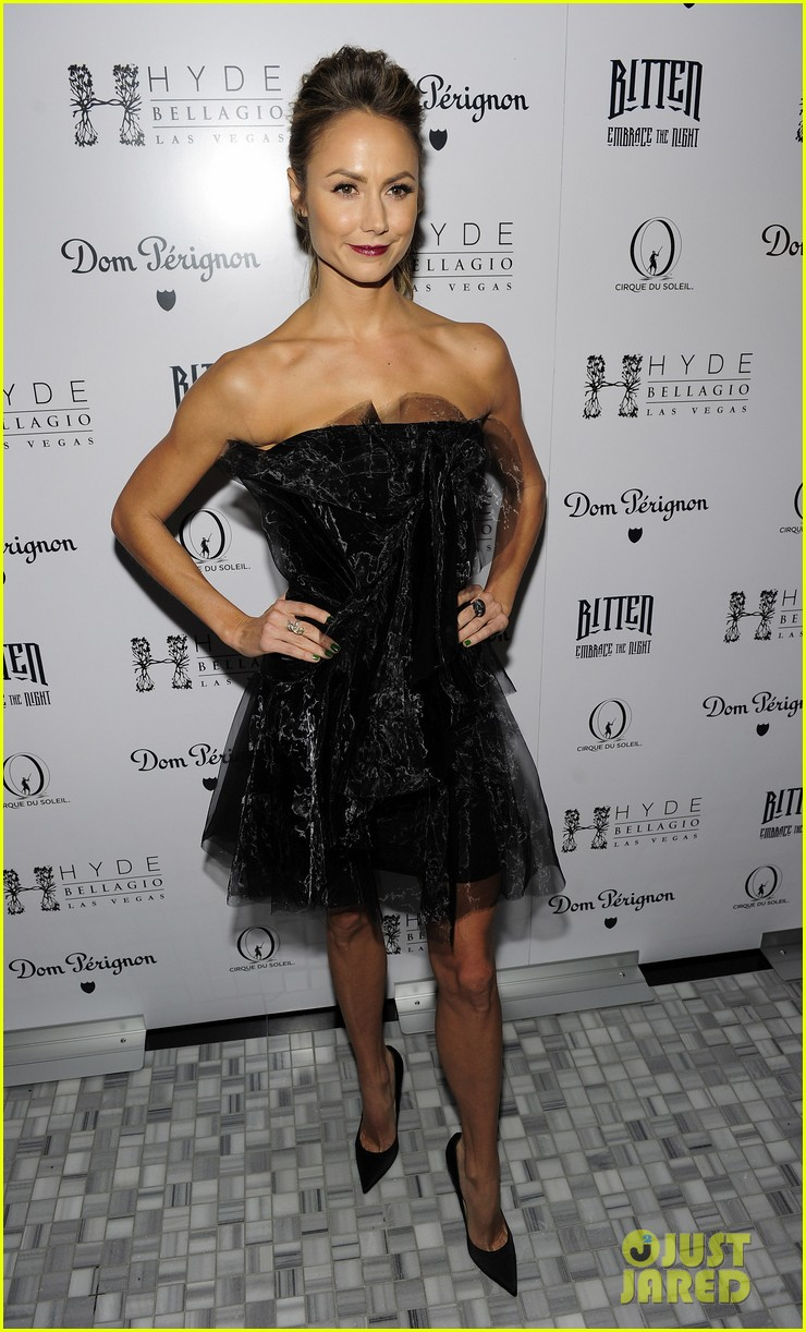stacy keibler halloween masquerade host 192746790