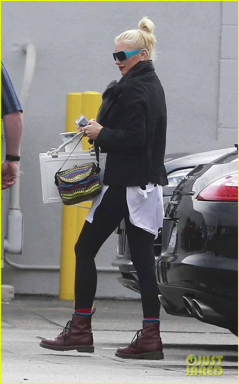 gwen stefani gavin rossdale coffee run studio city 06