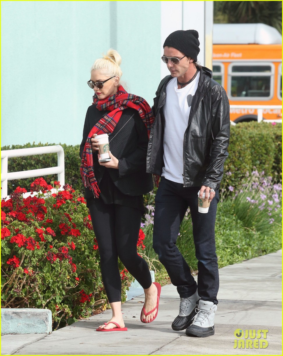 gwen stefani gavin rossdale coffee run studio city 18