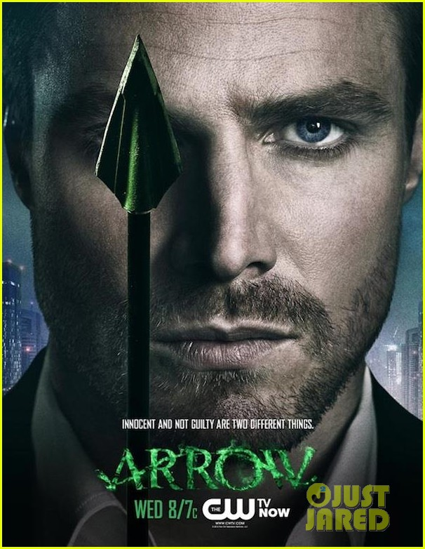 stephen amell new arrow poster 03