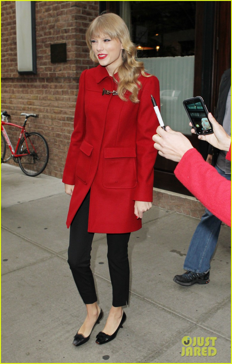 taylor swift late show with david letterman guest 13