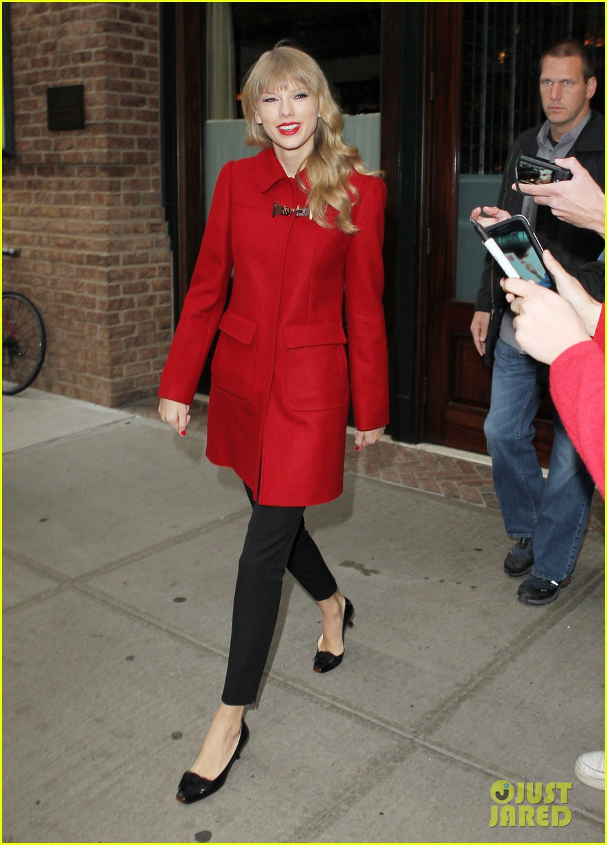 taylor swift late show with david letterman guest 14