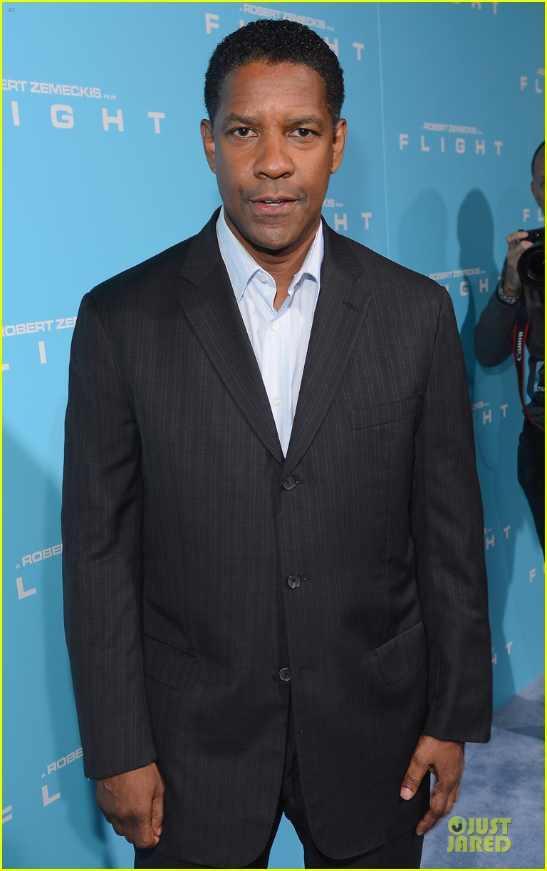 denzel washington flight premiere in los angeles 122743930