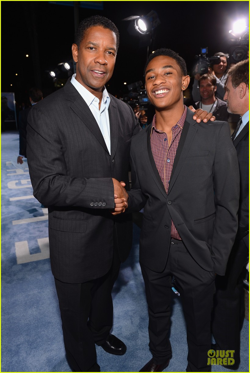 denzel washington flight premiere in los angeles 15