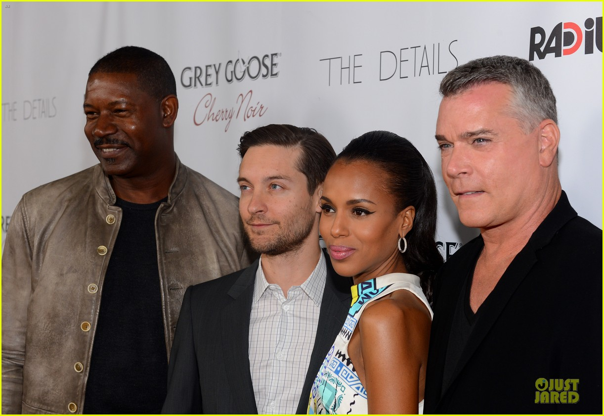kerry washington tobey maguire the details hollywood premiere 13