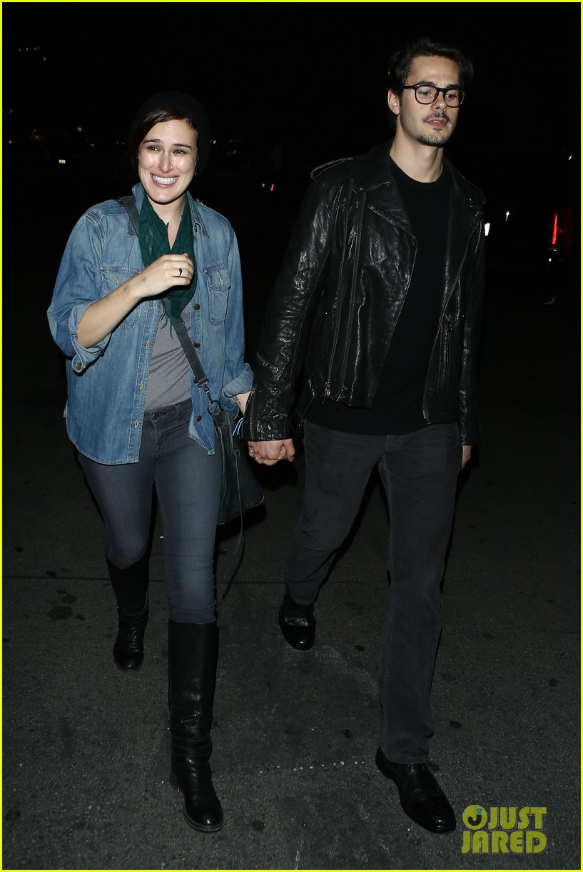 rumer willis jayson blair clubbing couple 01