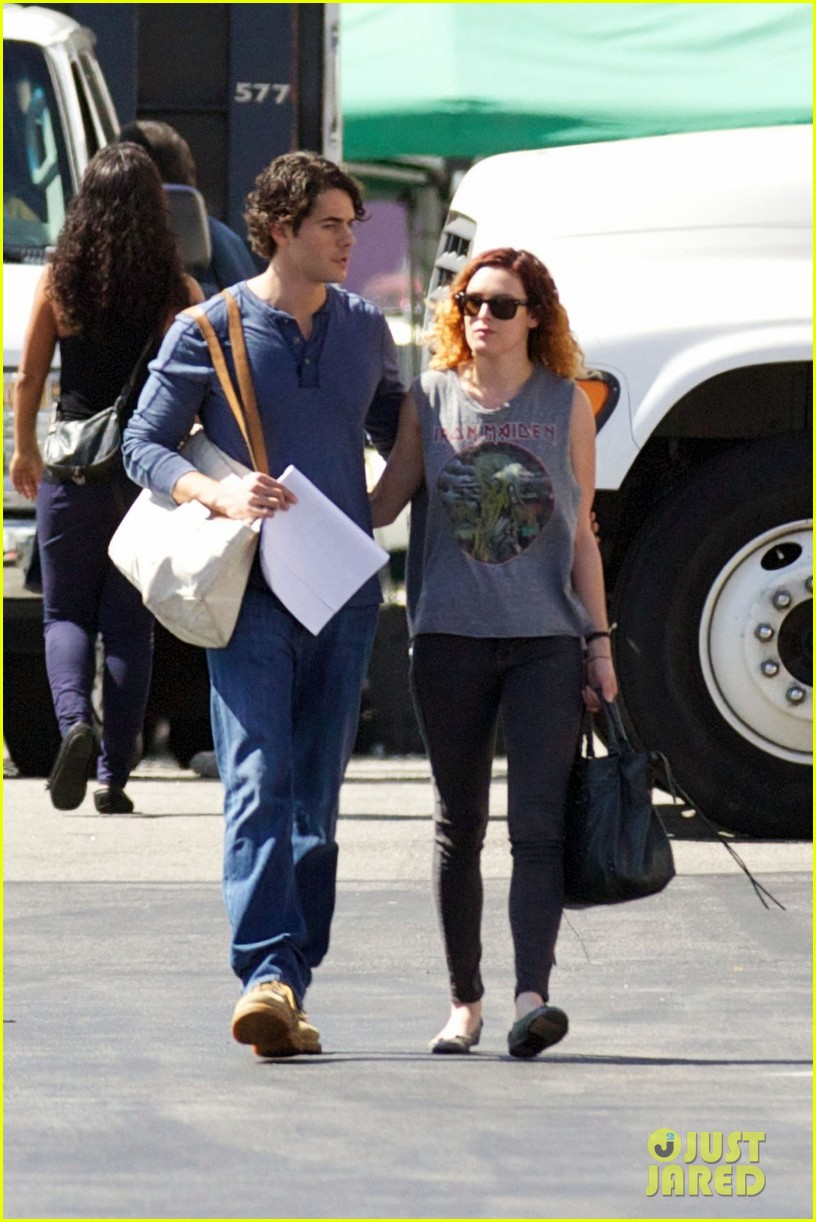 rumer willis jayson blair set visit 062733022