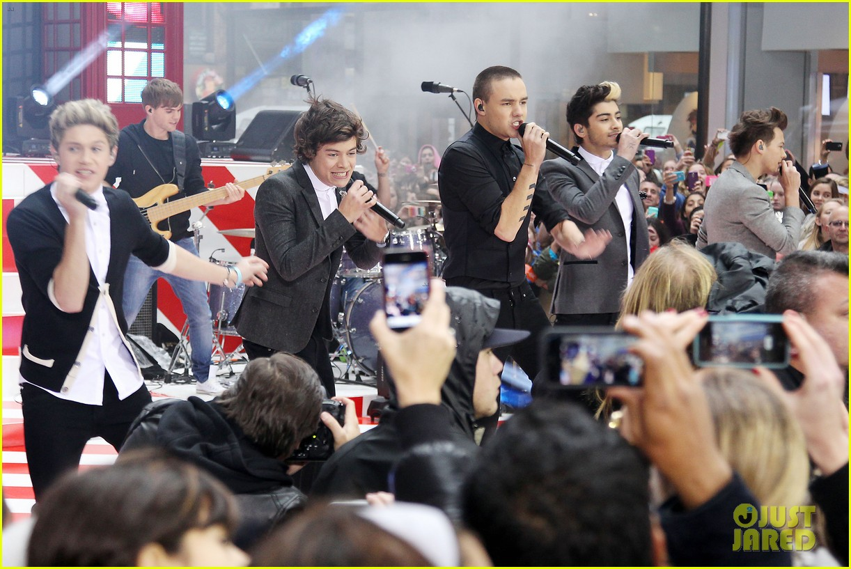 one direction announces 3d movie on today show 172756565