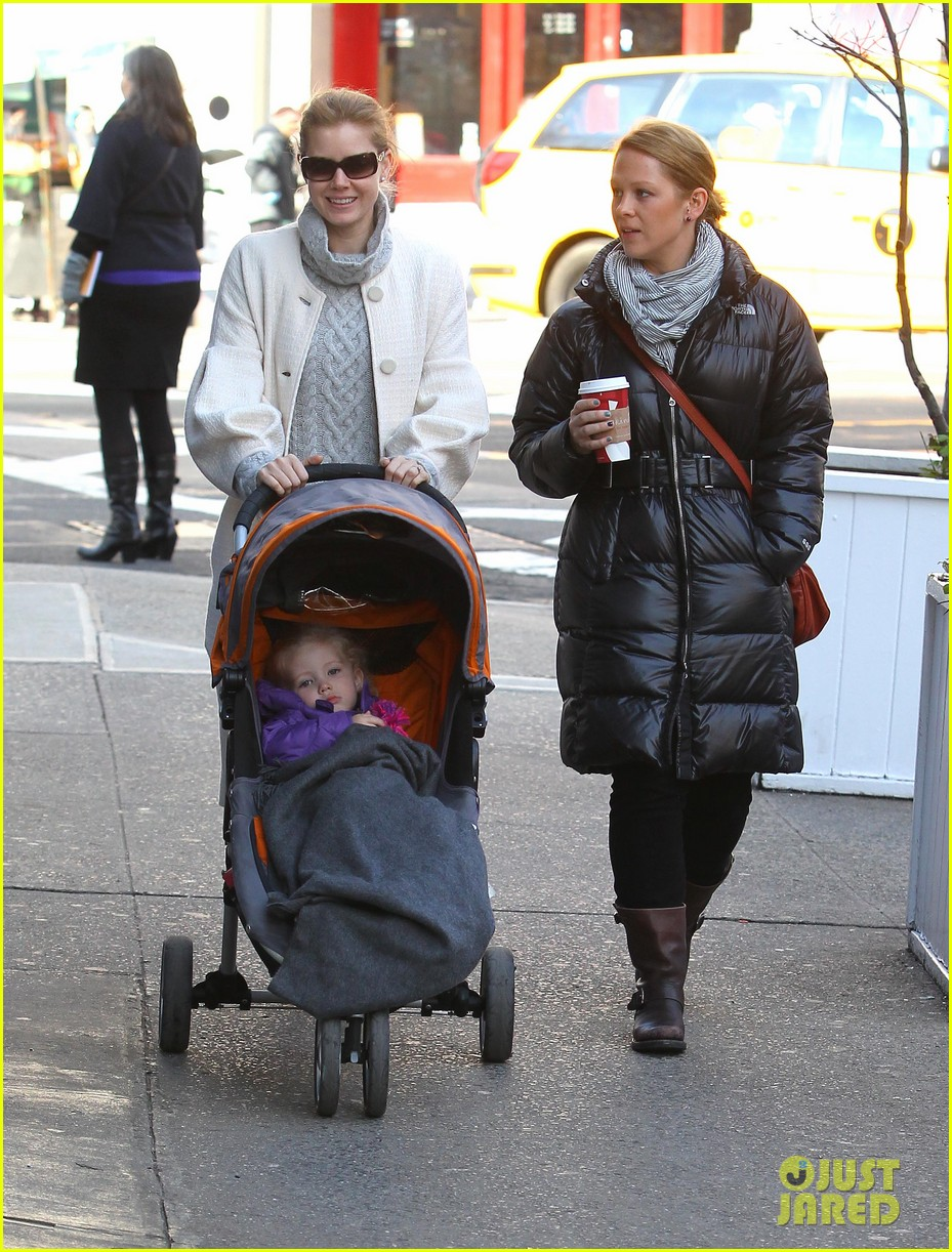 amy adams big apple family time 152766013