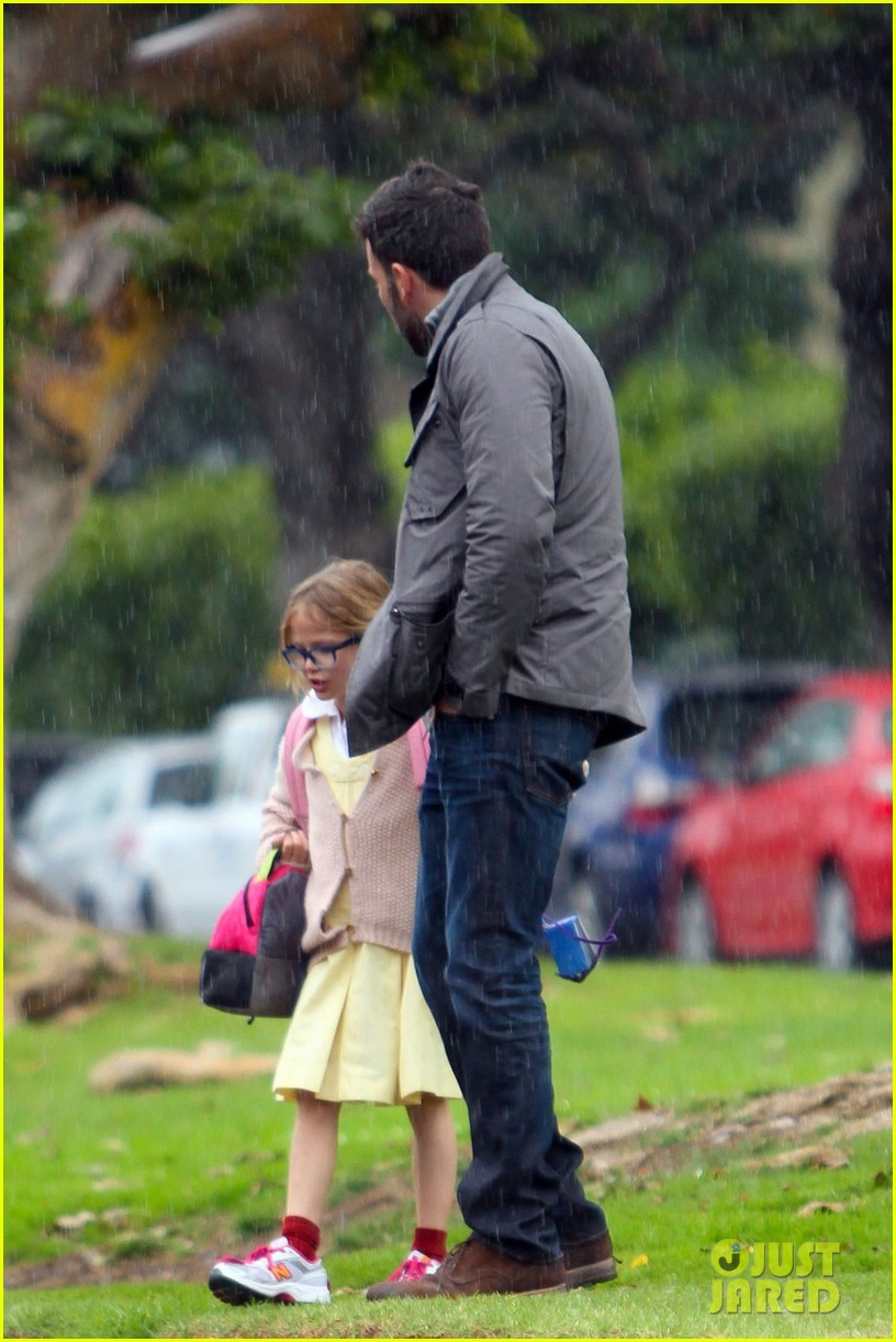 ben affleck daddys day with violet seraphina 072754037