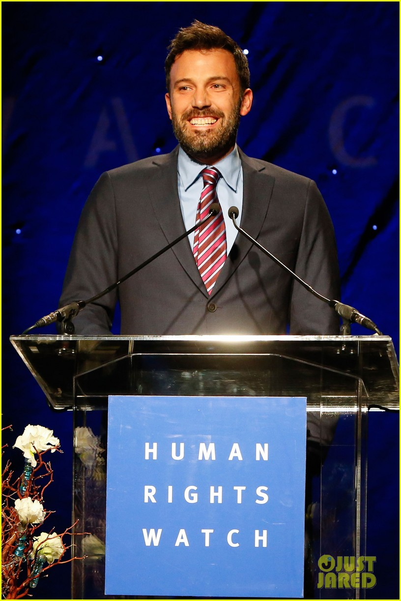 ben affleck human rights watch guest speaker 04