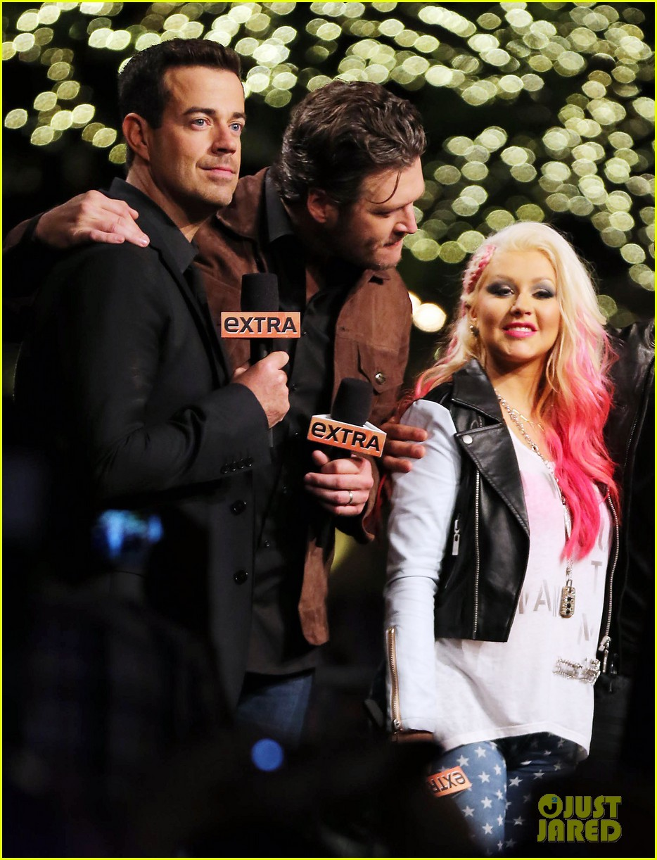 christina aguilera the voice at the grove 10