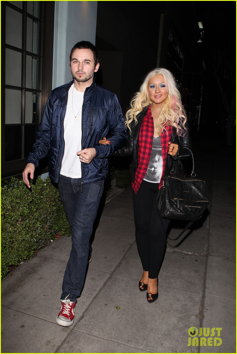 christina aguilera matthew rutler osteria mozza date night 012764480