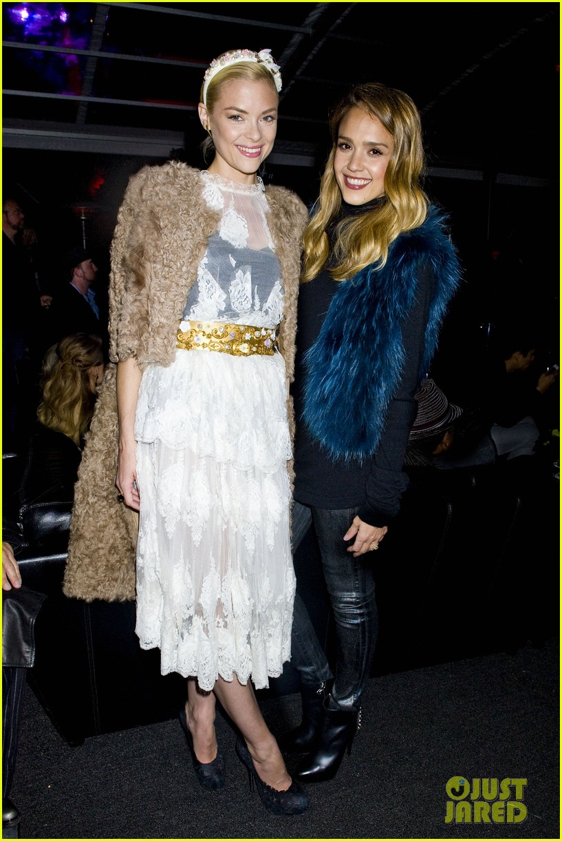 jessica alba jaime king sin city 2 production launch party 03