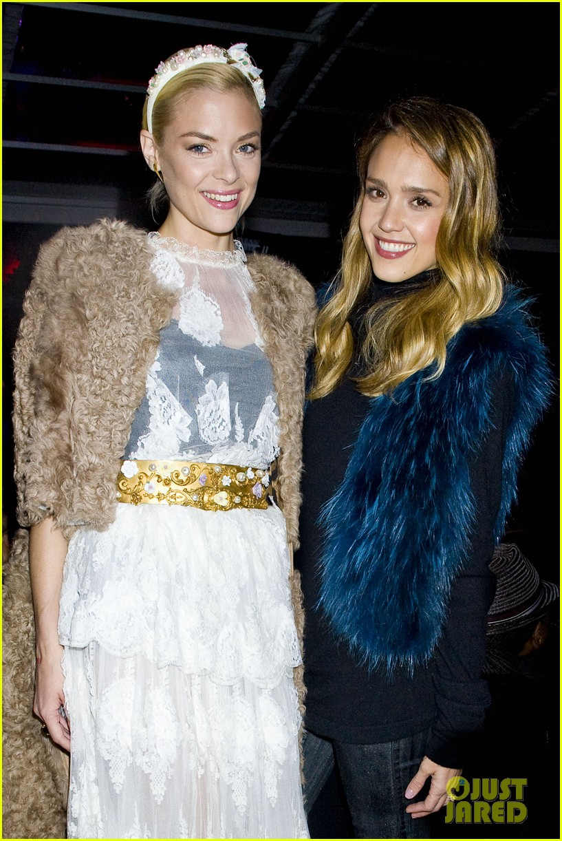 jessica alba jaime king sin city 2 production launch party 07