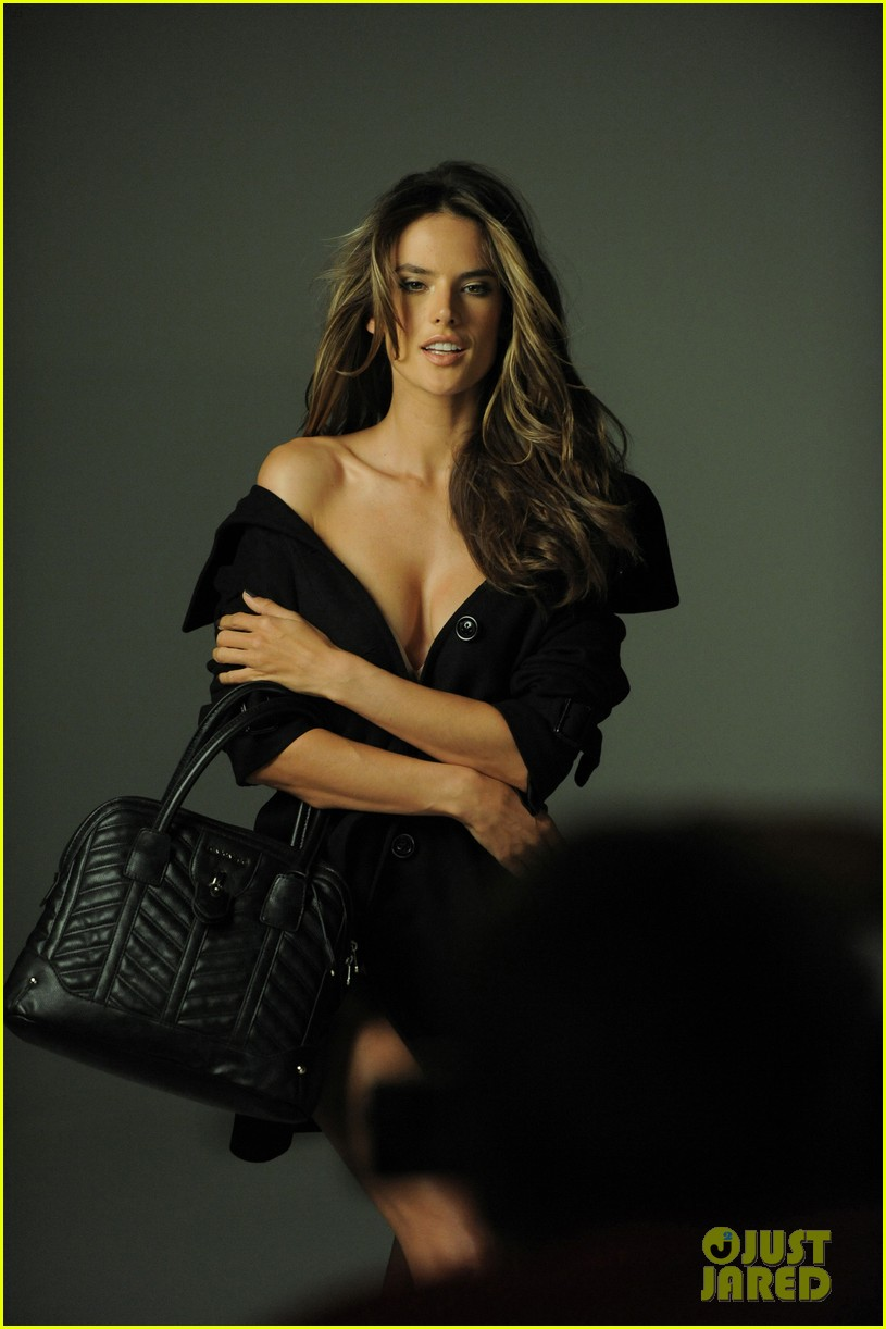 alessandra ambrosio london fog campaign with anja 10