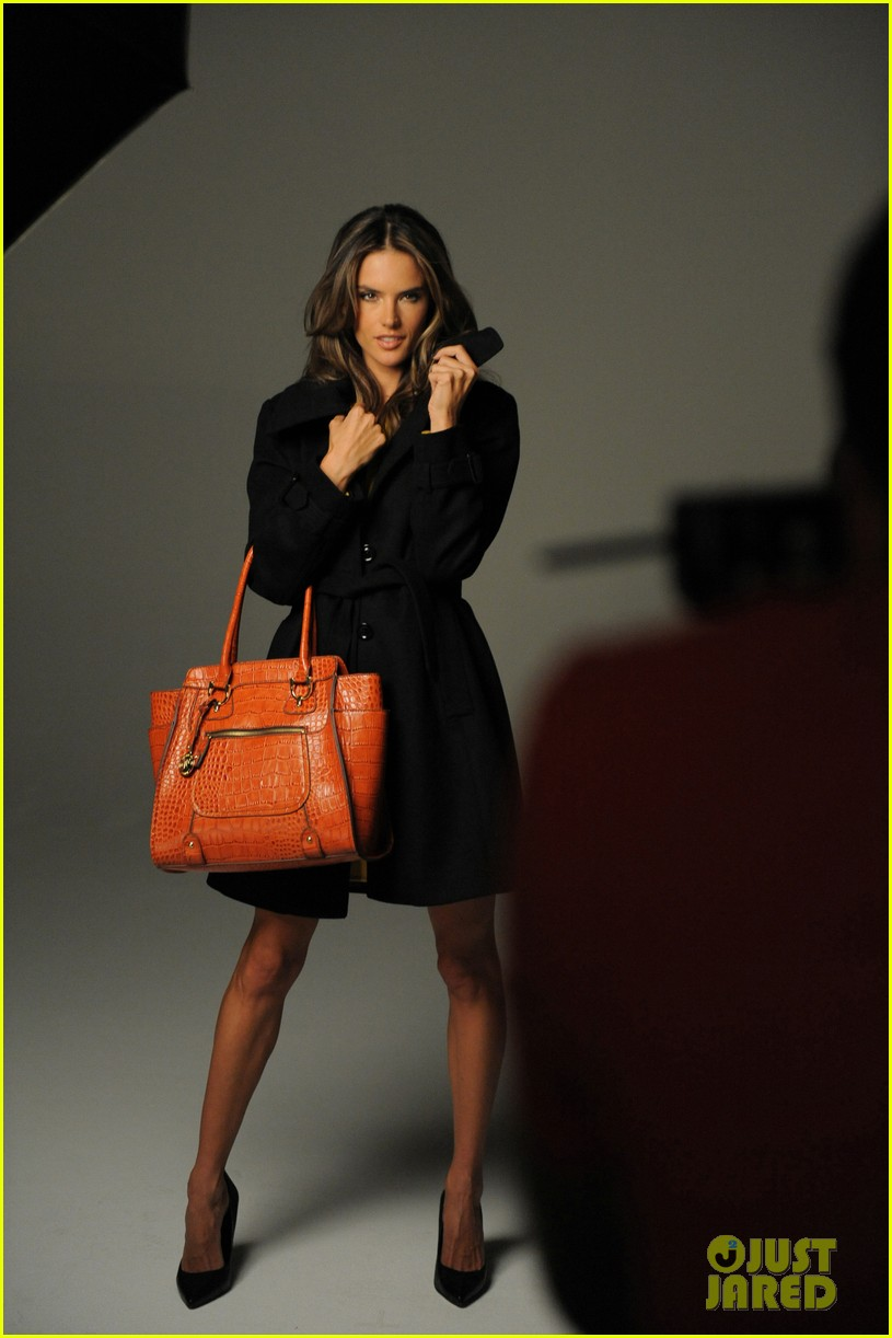 alessandra ambrosio london fog campaign with anja 162755120