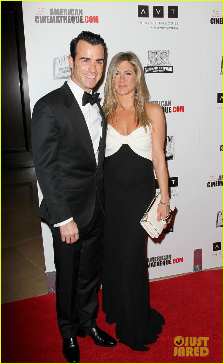 jennifer aniston justin theroux american cinematheque gala 22