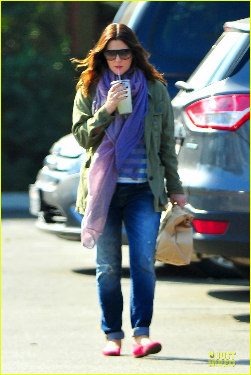 drew barrymore culver city lunch stop 06
