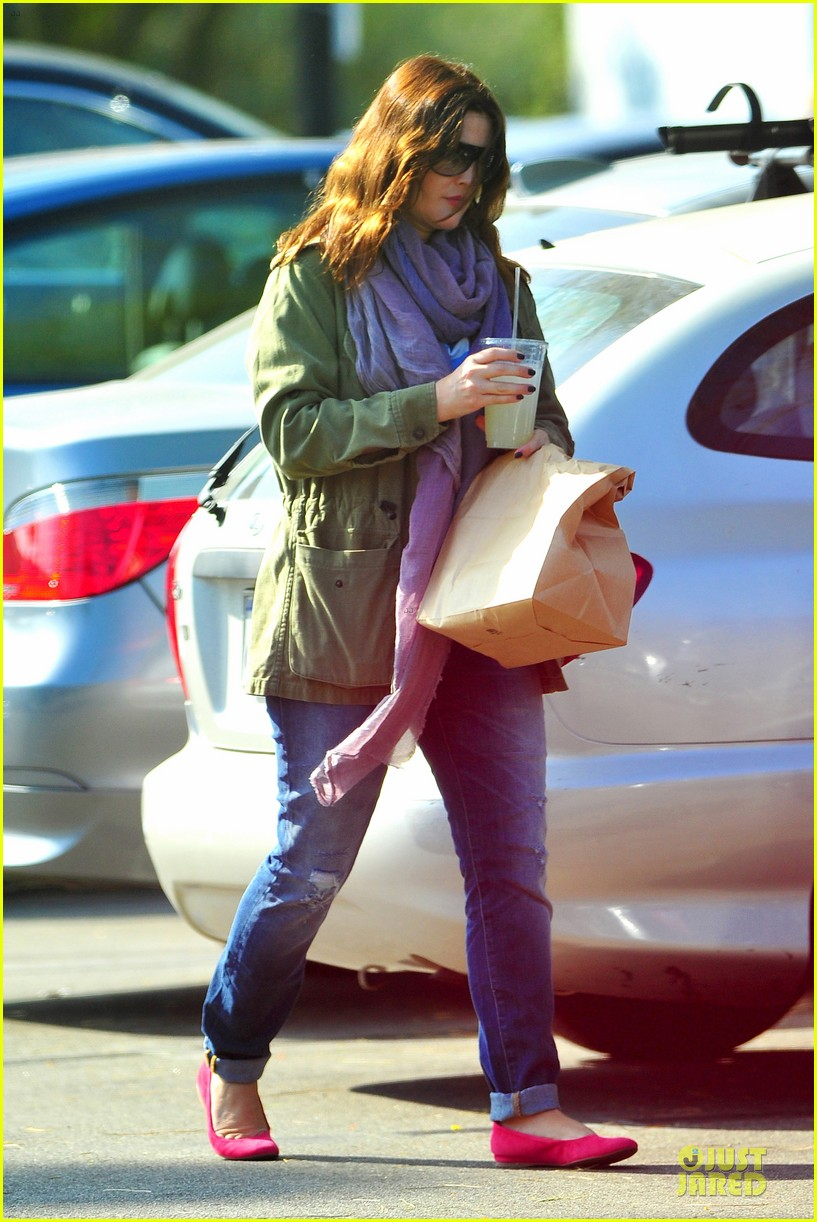 drew barrymore culver city lunch stop 12