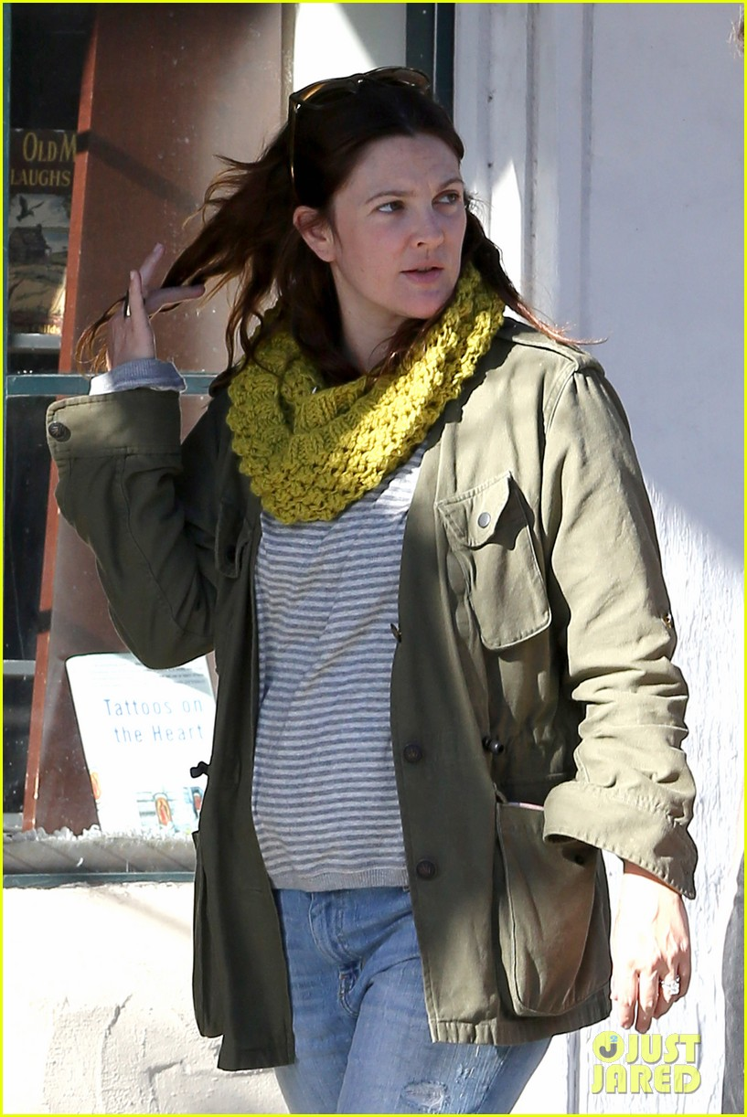 drew barrymore sunny santa barbara saturday 04