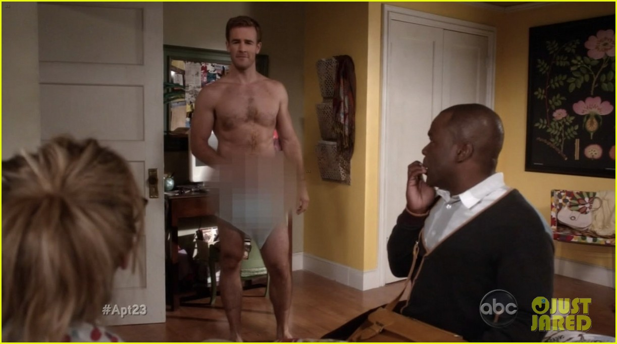krysten ritter james van der beek goes naked for apartment 23 03