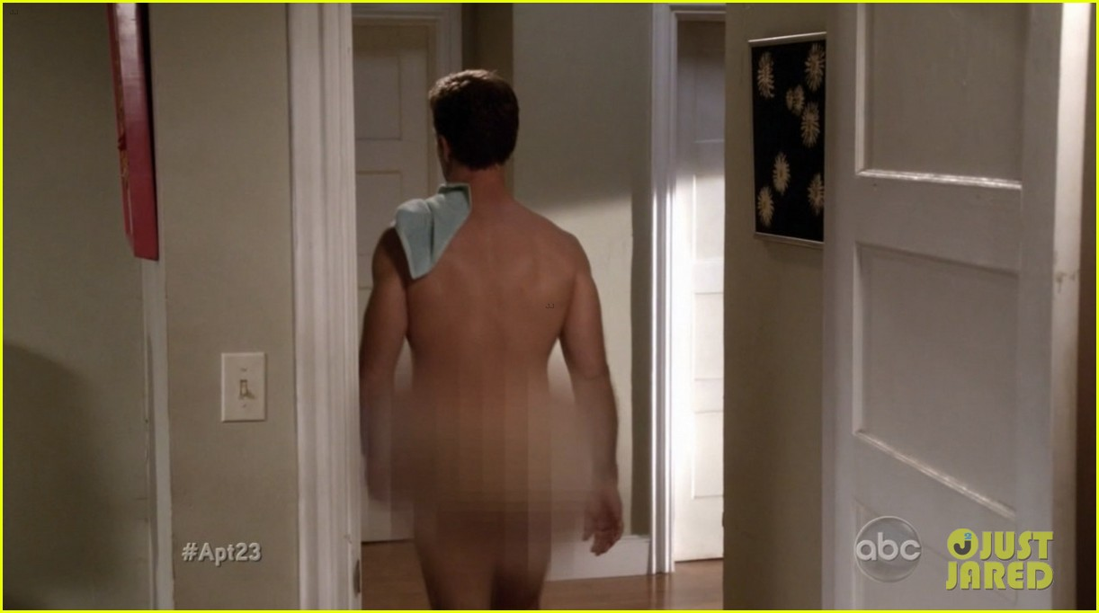 krysten ritter james van der beek goes naked for apartment 23 05