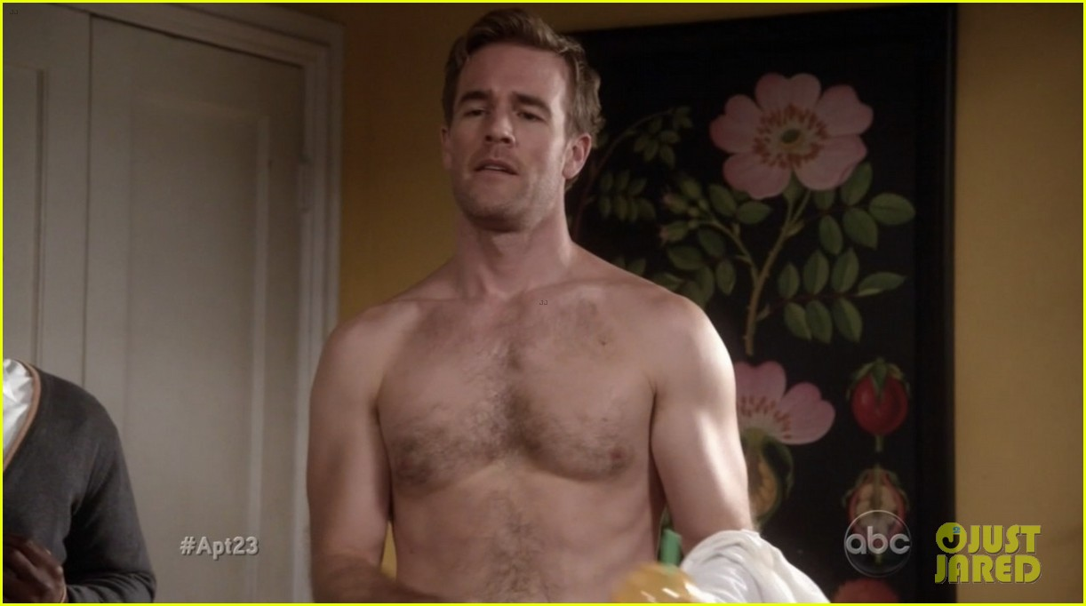 krysten ritter james van der beek goes naked for apartment 23 06