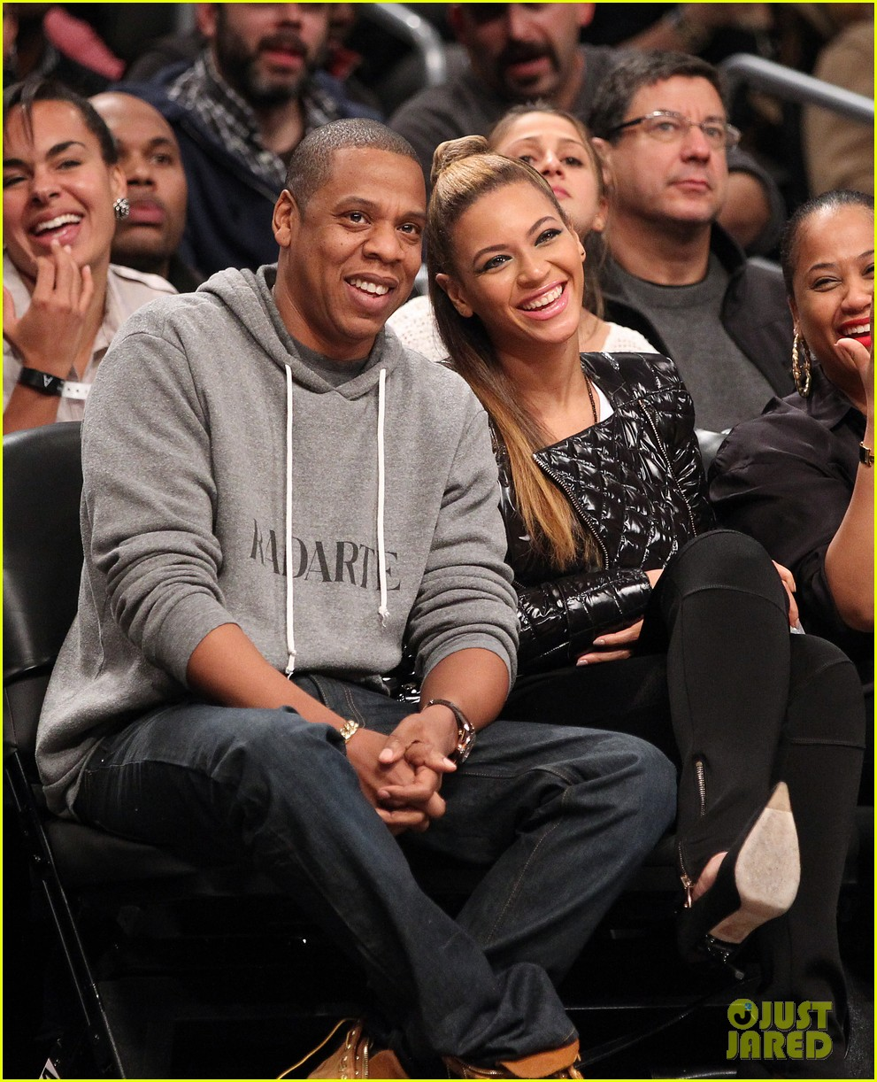 beyonce post thanksgiving nets game with jay z 03