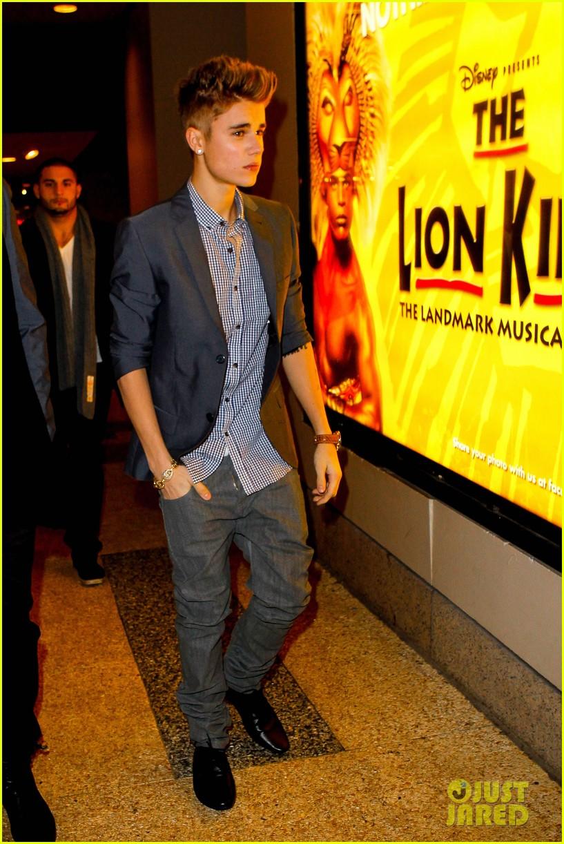 justin bieber lion king 03