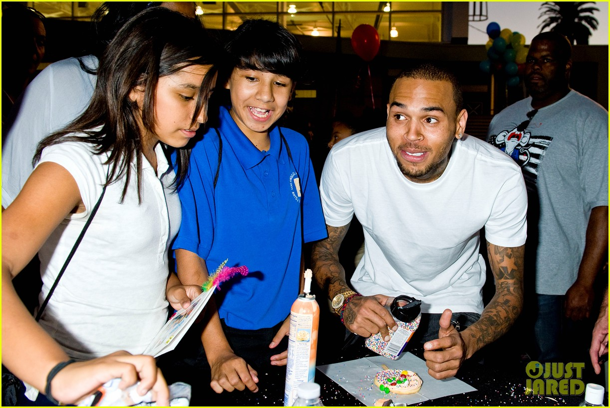 chris brown symphonic love foundation launch video 07