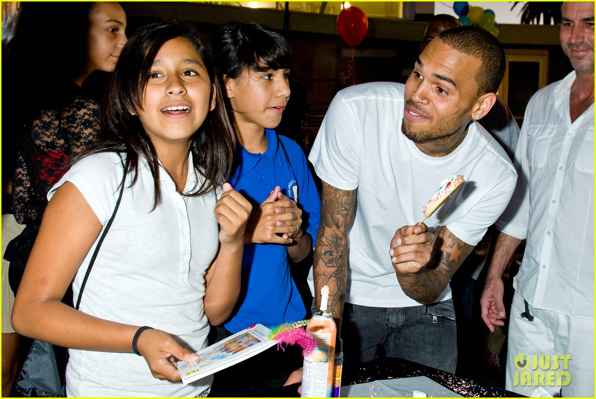 chris brown symphonic love foundation launch video 12