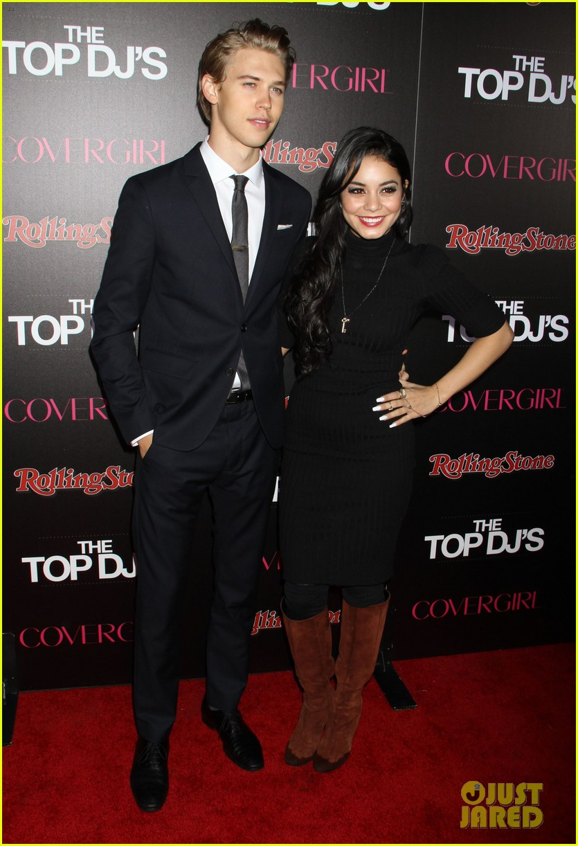 vanessa hudgens rolling stone party with austin butler 21