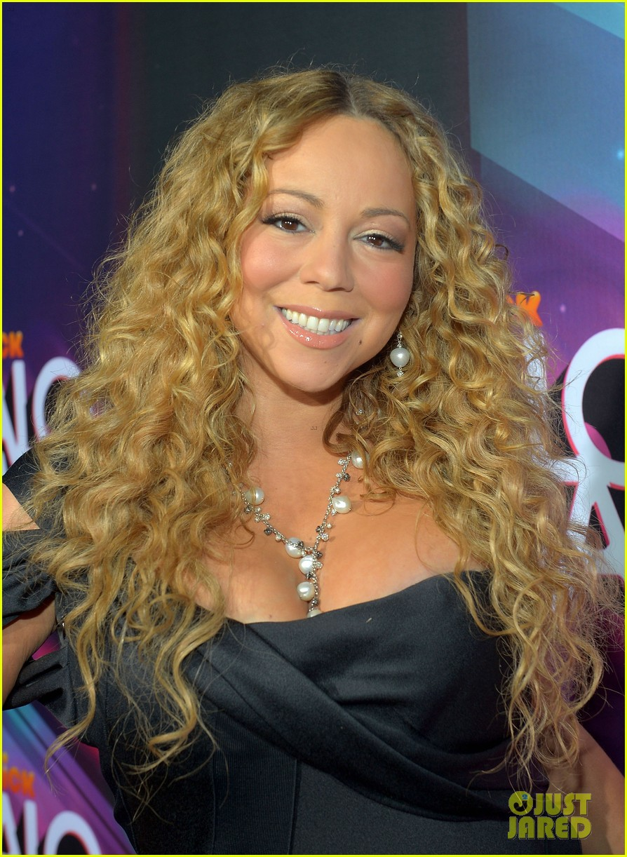 mariah carey nick cannon teennick halo awards 2012 02
