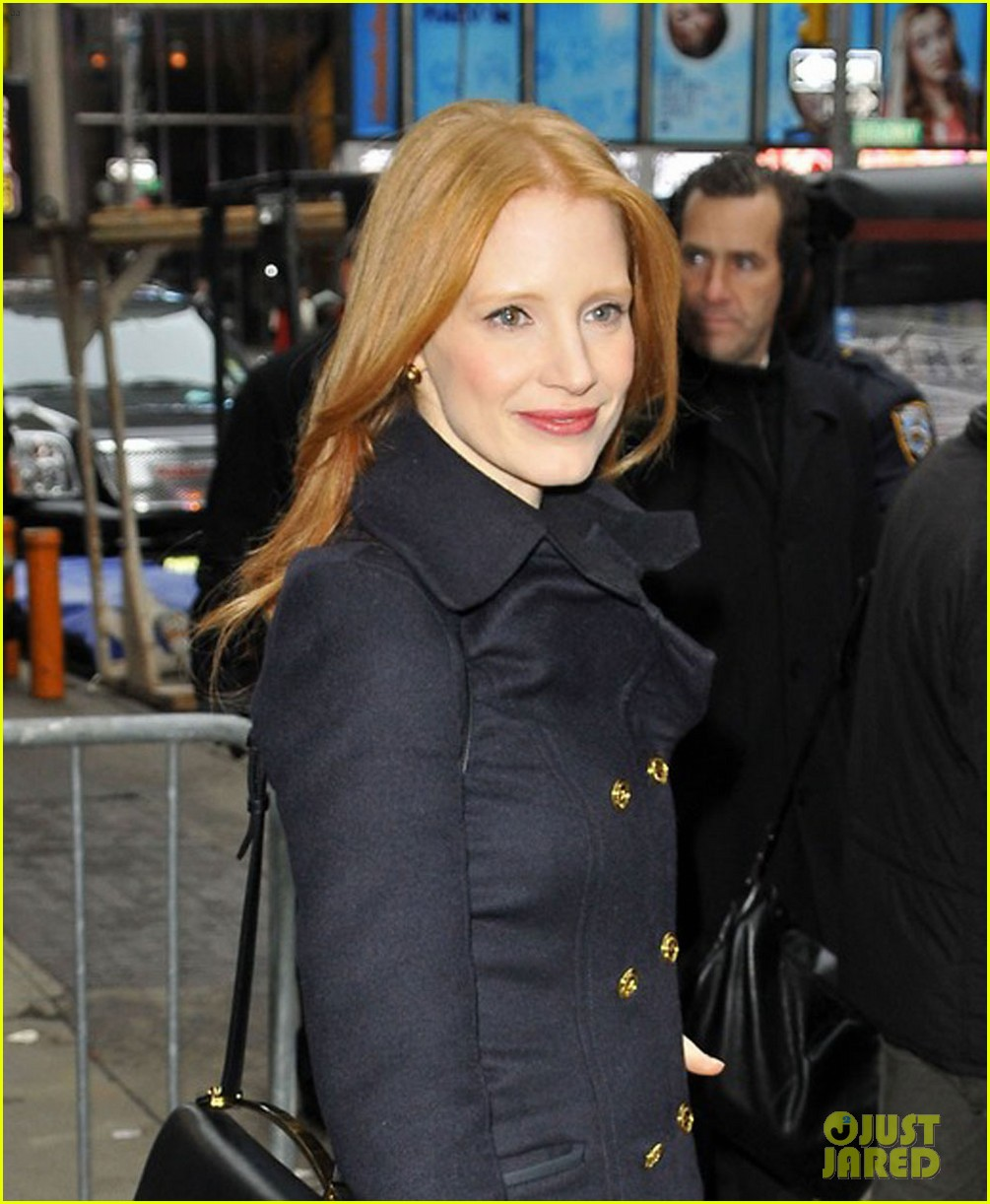 jessica chastain good morning america 06