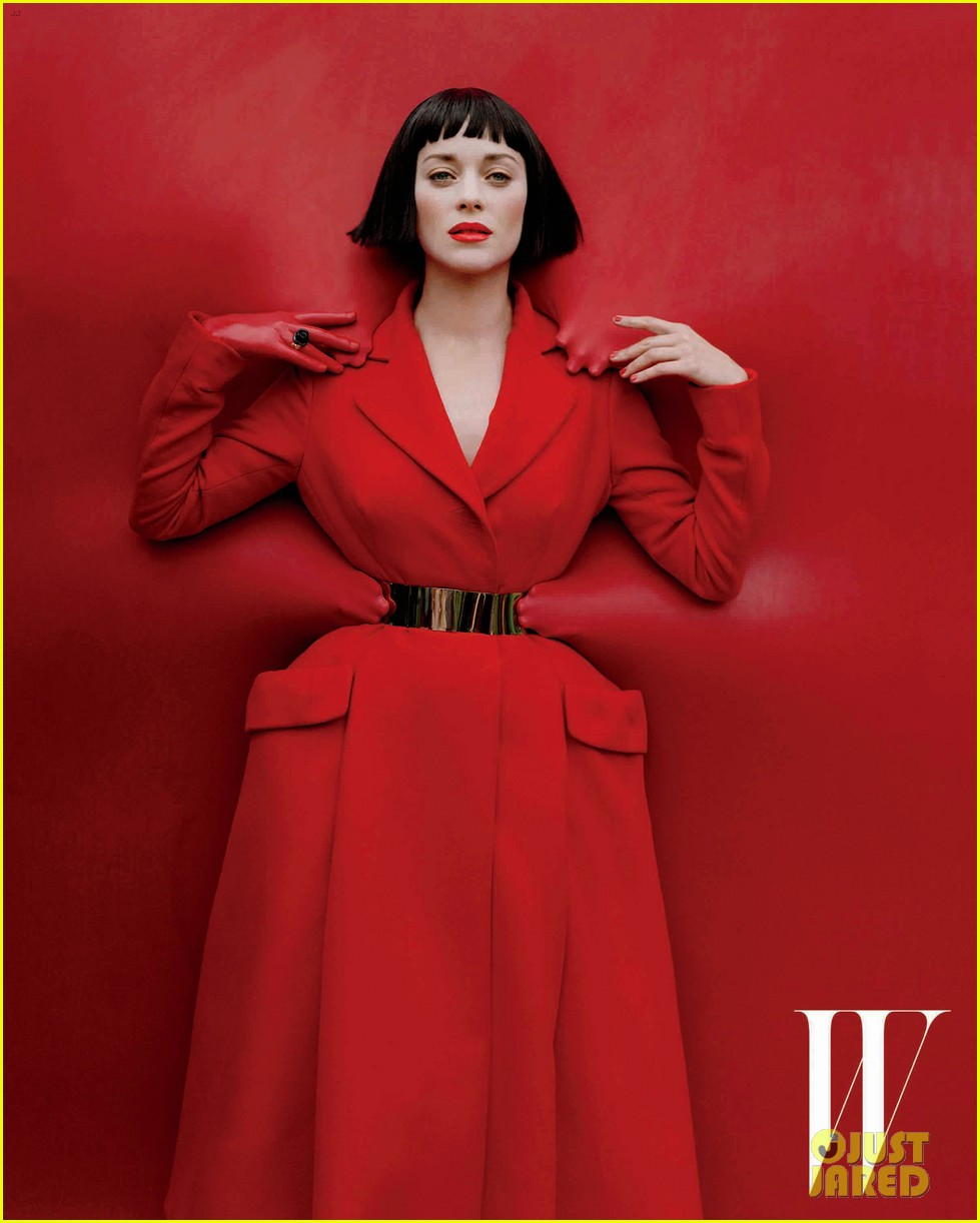 marion cotillard covers w magazine december 2012 072757705