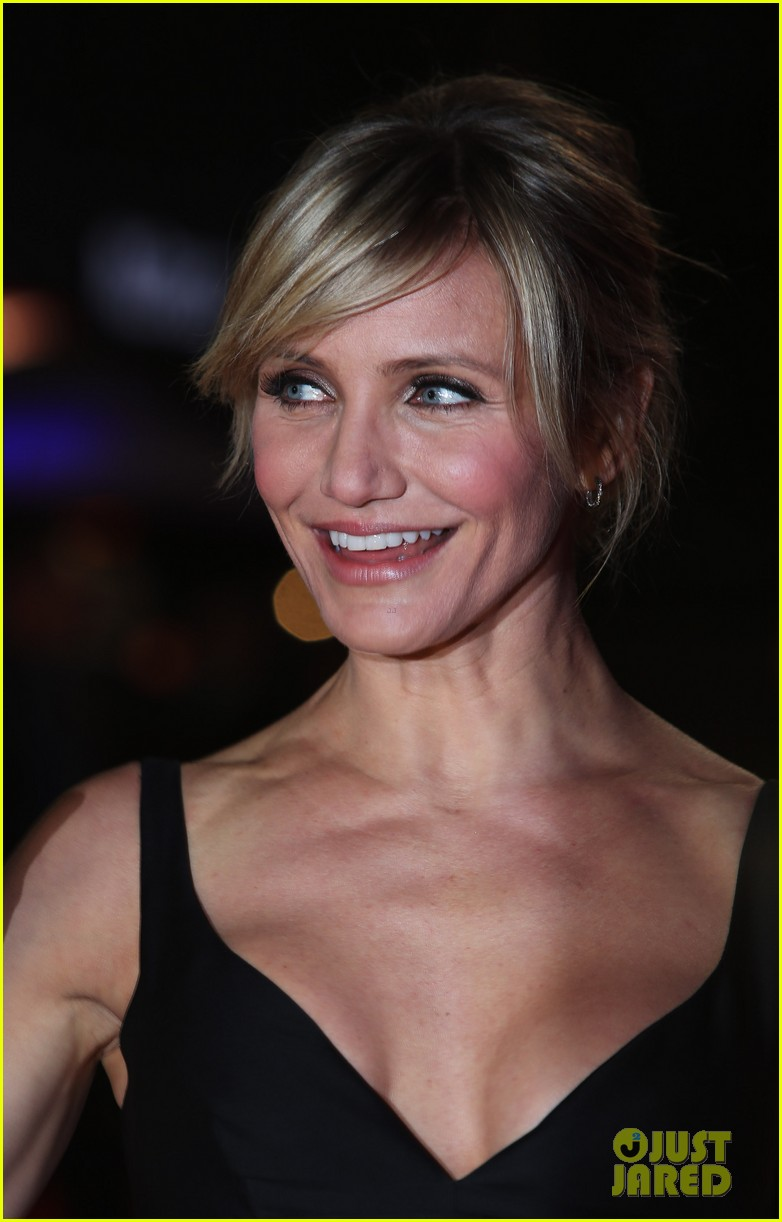 cameron diaz gambit world premiere with colin firth 16