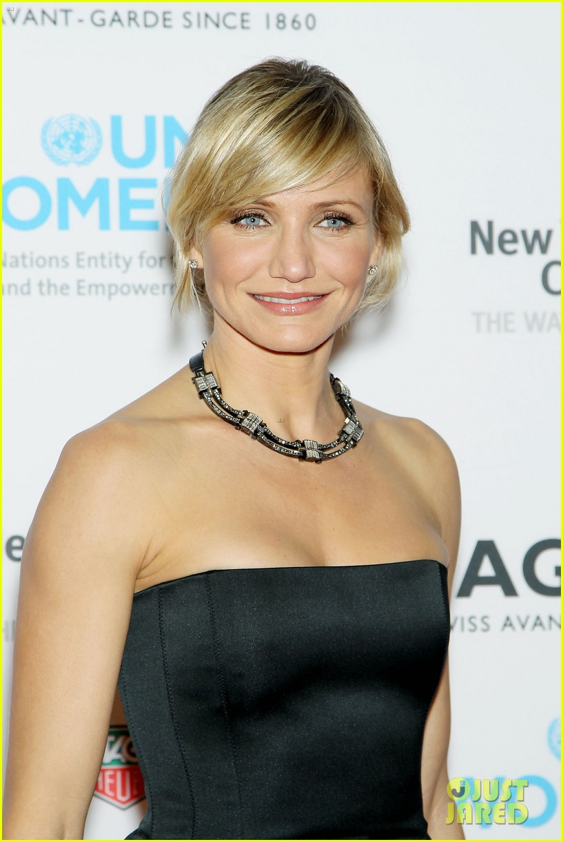 cameron diaz tag heuer watch launch 10