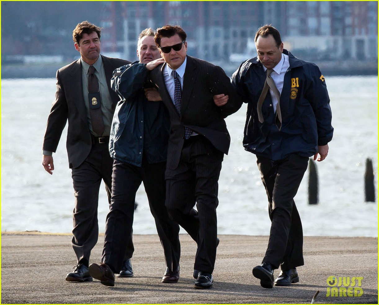 c14e3a0f0fe Leonardo DiCaprio  Arrested for  Wolf of Wall Street !  Photo 2765448
